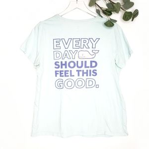 Vineyard Vines Every Day Should Feel This Good Tee